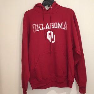 Oklahoma Sooners Hoodie NWT M